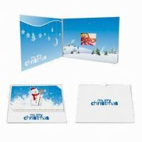 Wholesale Customized Video Wedding Invitations , Custom Video Greeting Cards from china suppliers