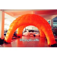 Wholesale 5m Orange Exhibition Tent, Advertising Inflatable Dome Tent for Trade Show from china suppliers