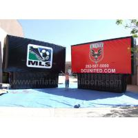 Wholesale Black / Red Inflatable Advertising Billboard 8m Waterproof UV Protection from china suppliers