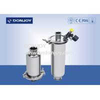 Wholesale Food Processing SS304 Inline Sanitary Filter With Sample Valve / Discharge Valve from china suppliers