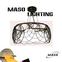 Wholesale MASO Latest Otctobor Product Circle Round Iron Pendant Lamp Three Light source MS-I6027 from china suppliers