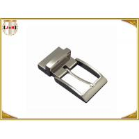 Wholesale Shiny Gunmetal  Zinc Alloy Custom Belt Buckle Special For Men , Inner Size 35 Mm from china suppliers