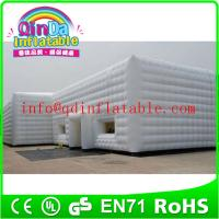 Wholesale Commercial use air dome tent dome inflatable tent Lighting inflatable tent structure from china suppliers