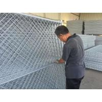 Quality 6ftx12FT Temporary Chain Link Fence Fabric Cross brace ,horizontal brace ,vertical barce chain mesh temp fence for sale