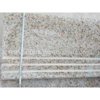 Buy cheap Popular Rusty Beige Granite Products,G682 Granite Stairs, Stairs Case, Riser Tiles from wholesalers