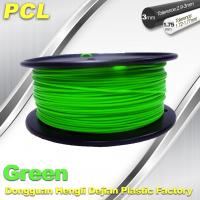 Wholesale Green Low Temperature 3D Printer Filament , 1.75 / 3.0mm PCL Filament from china suppliers