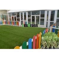Wholesale Smooth Synthetic Grass For Kindergarten Natural Appearance Child Play Ground Artificial Garss from china suppliers