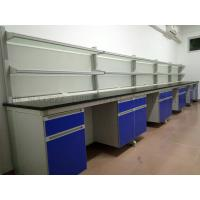 Quality Adjustable Lab Workstations / Laboratory Design Tables / Wall Lab Workbenches System for sale