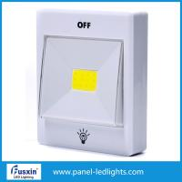Wholesale Warm White 3w Cob Switch Light / Led Cabinet Lights T With 3m Adhesive Tape from china suppliers