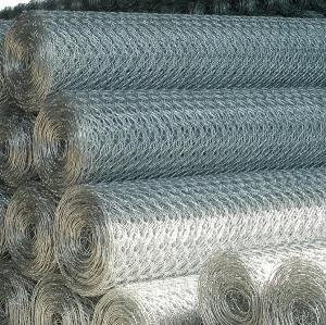Quality 100mmx80mm Gabion Rolls,Hexagonal Wire Mesh (hot-DIP galvanized 275G/M2) for sale