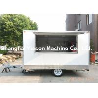 Wholesale New Material Of Grp Mobile Catering Trailers Ice Cream Custom Food Carts from china suppliers
