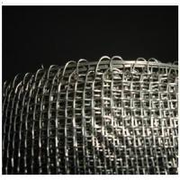 "Wholesale AISI304 Closed/Round Edge Woven Mesh With 1/2"" x 1/2"" square holes - 3 feet x 100 feet x 16 guage thickness from china suppliers"