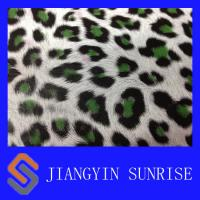 Wholesale Mirror Surface Leopard Pattern Synthetic Pu Leather For Shoes / Bags / Handbags from china suppliers