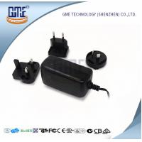 Wholesale Wall Mount AC DC Switching Power Supply 12v 2a With Interchangeable Plugs from china suppliers