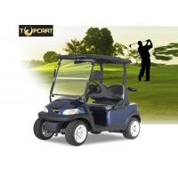 Wholesale Dark Blue 48V 2 Person Golf Cart , Motorised Golf Carts Aluminum Chassis from china suppliers