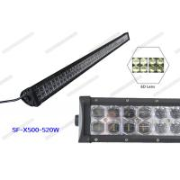 Wholesale 6D 57200LM 520w 52 Inch LED Light Bar PC Lens Waterproof For Boat / Bus from china suppliers