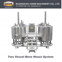Wholesale Beer Craft Brewing Equipment For Laboratory , Steam Heated 30 BBL Brewhouse 3mm from china suppliers