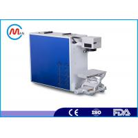 Wholesale Desktop Design Fiber Laser Marking Machine For Wood 30w with Raycus fiber laser source from china suppliers