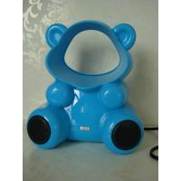 "Wholesale 6"" Blue Mini type USB bladeless Electric speaker fan with 5V 2W from china suppliers"