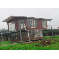 Wholesale Water Proof Light Steel Portable  2 Bedroom Modular Homes Prefab House from china suppliers