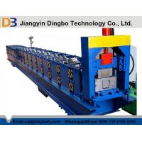 Buy cheap Low Noise 5.5kw Standard Gutter Roll Forming Machine 15 Groups Roller from wholesalers