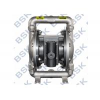 Pharmacy Chemicals Air Driven Diaphragm Pump Stainless Steel