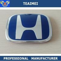 Wholesale Plastic Blue 3D Automotive Badges Emblems , Custom Civic Head Car Emblem from china suppliers