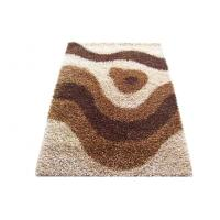 Wholesale Polyester Shaggy Rug, Beige Floor Rugs, Multi Color Shag Rug Modern Carpet from china suppliers