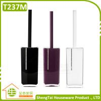 Wholesale Crystal Toilet Brush Diamond Decorative With Transparent Holder from china suppliers