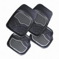 Wholesale Rubber Car Mat, Various Colors are Available from china suppliers