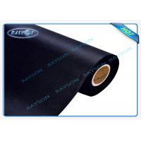 Wholesale UK Standard Bs5852 Black Flame Retardant Nonwovens For Sofa / Mattress from china suppliers