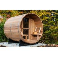 Wholesale Cedar Electronic Outdoor Steam Shower Cabins For Dry Sauna , 1800*2400mm from china suppliers