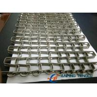 Wholesale Stainless Steel Horseshoe Mesh Conveyor Belt, for Heavy Goods Conveyor from china suppliers