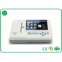 Wholesale CE & FDA Approved Digital Hospital ECG Machine With 7 Inch TFT Touch Screen , 12 Leads from china suppliers