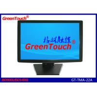 Wholesale 22 Inch Touch Screen Desktop Monitor , Banks LCD Touch Screen Display from china suppliers