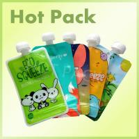 Wholesale Eco Friendly Disposable Baby Food Stand Up Pouch With Spout Food Grade Leak Proof from china suppliers