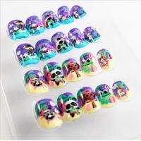 Wholesale Colorful Artificial Fingers Fake Nails French Style With Magic Color Changing from china suppliers