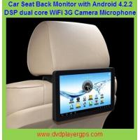"Wholesale 1080P Touch Screen 10.1""Car Back Seat Monitor With WIFI,3G,Capacitive Panel,Game Play from china suppliers"