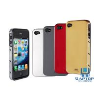 Wholesale Gold 100% brand new Iphone4 / 4S protect case Iron + silica gel case / cover from china suppliers
