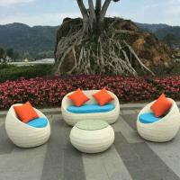 Buy cheap China manufacture outdoor garden furnitures indoor rattan chair sets from wholesalers