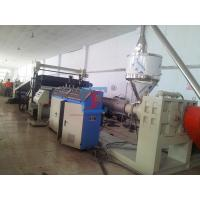 Buy cheap High Performance Plastic Sheet Extrusion Line , PP PE HDPE Sheet Production Line from wholesalers