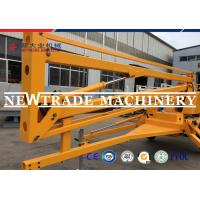 Buy cheap 18M Towable Boom Lift Truck Mounted Scissor Lift For Cherry Picker from wholesalers