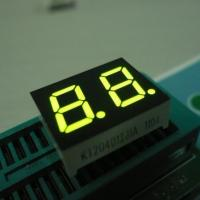 Wholesale Green Small Custom 7 Segment Led Display Two Digit For Instrument Panel 0.4 Inch from china suppliers