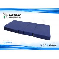 Quality Comfortable Memory Foam Hospital Bed Mattress With High Density Foam , L1920*W840*H80mm for sale