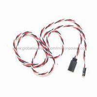 Wholesale 900mm Twisted Servo Extension Cable, Used for RC Car, Plane and Helicopter from china suppliers