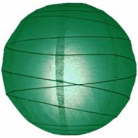 Wholesale Easter Day Green Paper Lanterns / Round Paper Lanterns With Customer'S Logo from china suppliers