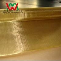 "Wholesale Brass Mesh, 100x100, 0.004"" (0.10mm) Wire, from china suppliers"