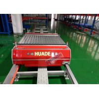 Wholesale Red Automated Storage Retrieval System Dual Rail Annular Ferry Car Transmitting Pallets from china suppliers