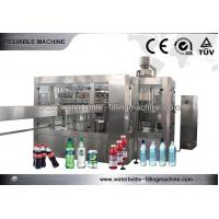 China 3 In 1 Gas Beverage Filling Machine PET Bottle Production Line Easy Operated on sale