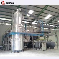 Oversea installation factory price used motor oil for Used motor oil recycling equipment